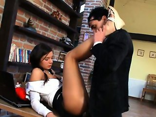 Hot lesson in sinful seduction
