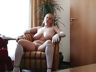 Amateur Big Tits Chubby  Natural Russian  Solo