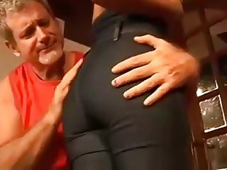 Older Man Sodomizes A Younger Babe