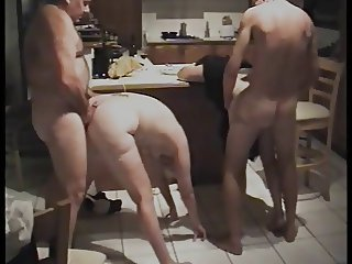 Kitchen fun with an increment of squirt