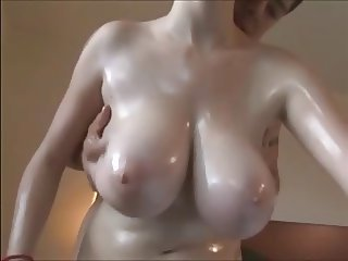 Big Tits Chubby Natural Oiled Teen