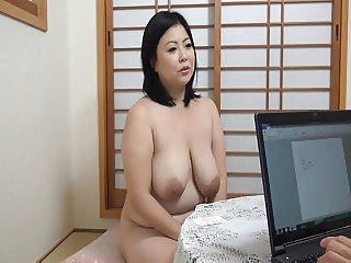 Asian Big Tits Chubby  Mom Natural
