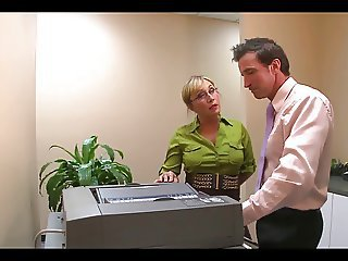 Mature Office Creampie