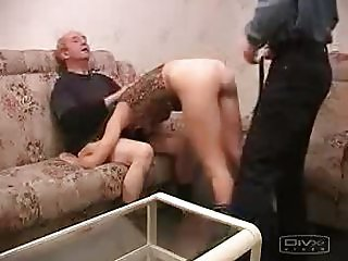 Young and Aged man fucked hot chik