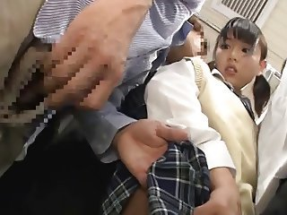 Japanese Schoolgirl Gets Acquaint Choke + Squirting