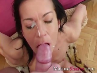 Mature Here Getting A Mouthful O...