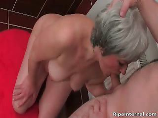 Hot Blonde Milf Gets Naked For Her Young Part5