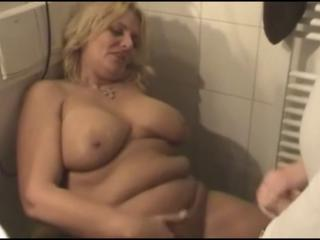 Amateur Bathroom Chubby Cumshot Homemade Mature