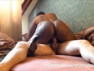 "ebony wife riding white cock in heels"" class=""th-mov"