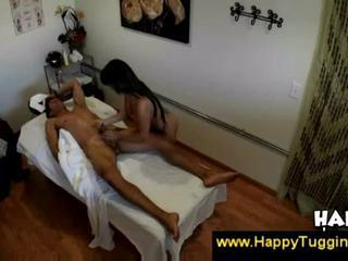 Asian puts clients erection in her snatch