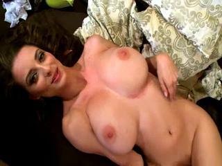 "Estelle Taylor strips and shows us her mighty big titties"" class=""th-mov"