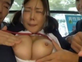 Student Momoka Nohara has bumped By 2 boys