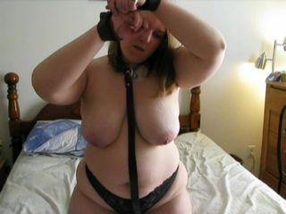 Milf tied and vibrated with a panty vib