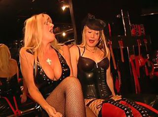 Hot chick goes for the 50 shades admit _: bdsm dutch group latex toys