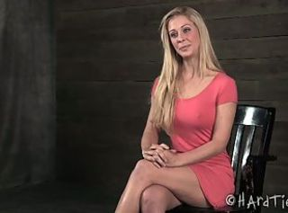 Cherie deville gets her hot ass spanked hard. _: humiliation round ass big unpractised tits