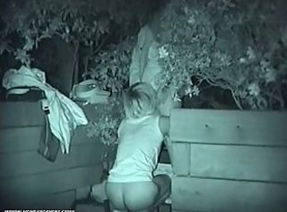 Naughty asians fucking outdoors at night _: hidden cam spy cam voyeur