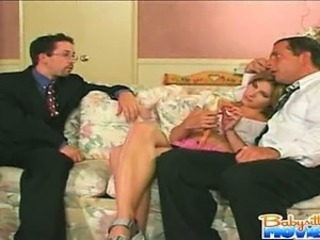 Naughty Babysitter Dominica gets caught sleeping then gets