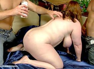 Fat redhead milf audit two erected challenge meats _: heavy unpretentious tits heavy nipples chubby monster boobs