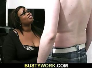 Ebony Glasses Interracial
