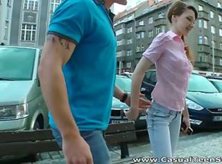 Horny russian teen fucked hard at home _: innocent