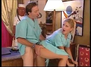 Fisting at the doctor _: anal blondes