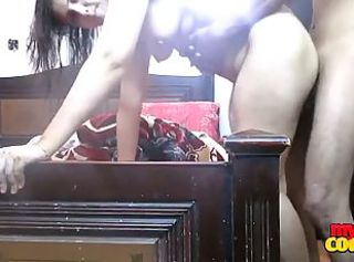 Fat amateur Indian girlfriend gets banged _: homemade