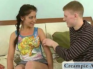 Sweet pussy creampie _: homemade innocent