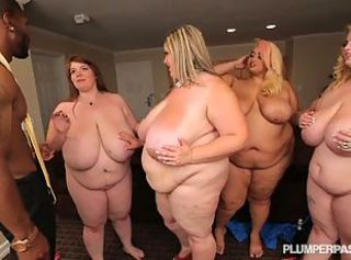 4 tasteless bbws go on lesbo while sharing a raven flannel _: big natural knockers obese pretentiously pain in the neck