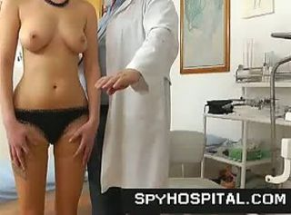 Pervert gyno doctor sets up a hidden cam for pussy _: big natural tits spy cam voyeur big ass