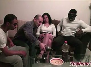 Lilou Sou teenager salope livree par son mari a des blacks _: amateur cuckold french gangbang interracial