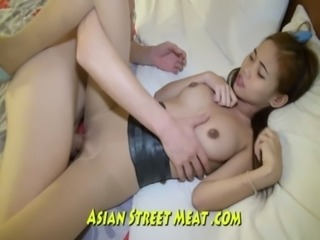 Petite Asian Sweetie Loves Foreign Cock free