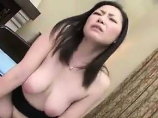 Dirty Japanese Cougar Fucked Increased by Creampied
