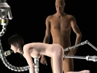 Sexy 3D hentai slave gets fucked