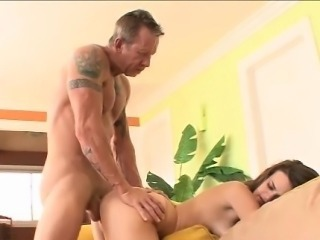 Daddy Cums In His Daughters Mouth