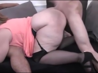 Clothed Hardcore Mature Threesome