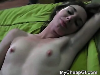 Brunette Ex Fucked And Takes Cumshot Poi...