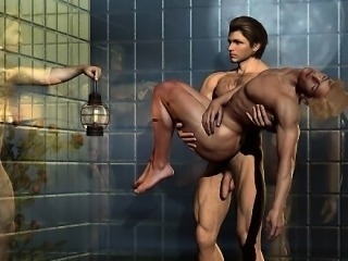 3D Fantasize Gays and Muscled Boys!