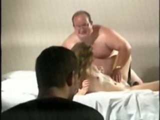 Supplicant Forced To Wait for His Wife Fucked Apart from A Distinguished Chubby Man free