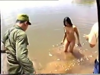 Thai Army with an increment of Village Girls easy
