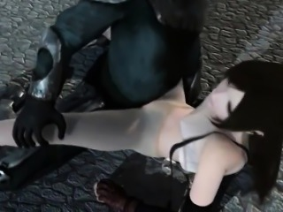 Hentai babe turning into sex slave and fucked by monsters