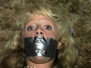 Cute Blonde Flunkey Duct Taped Classic