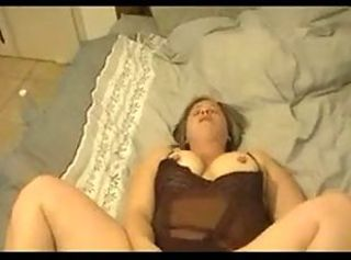 Amateur Chubby Homemade Lingerie Mom Orgasm
