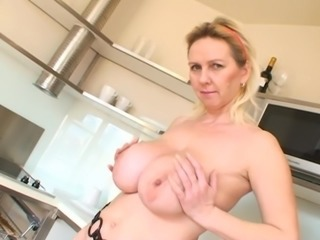 My fave big tit mature blonde 2