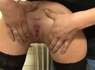 German Anna Anal Action