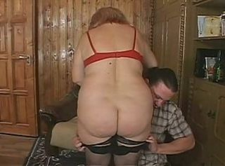 Fat european granny loves cock in will not hear of cunt