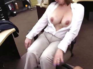 Mature Bangros MILF shows her tits less the shop and fucked like a pro