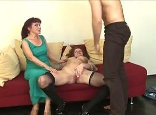 Mature Lesson - Natali, Katrin and Artur