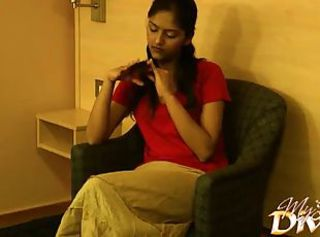 Feeble-minded teen Divya Yogesh started undressing
