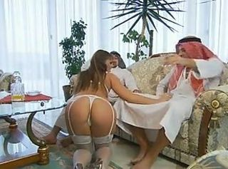 Simony Diamond - With two Arab men