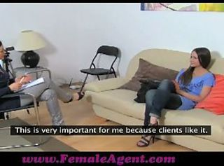 Ashley first audition lesbian sex by casting agent